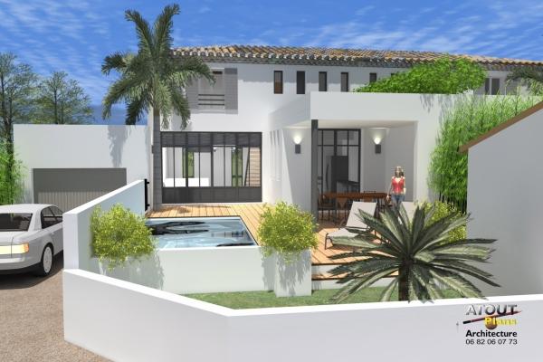 2 logements neufs sur une parcelle en indivision Sauveterre 30 Atoutplans- (4)