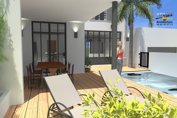 2 logements neufs sur une parcelle en indivision Sauveterre 30 Atoutplans- (7)