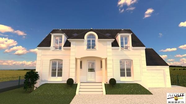 construction maison ile de france. Black Bedroom Furniture Sets. Home Design Ideas