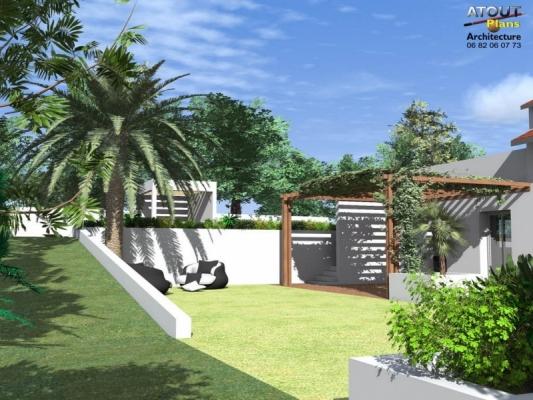 Aménagement paysager Chateauneuf de gadagne_ Atoutplans Architecture (2)