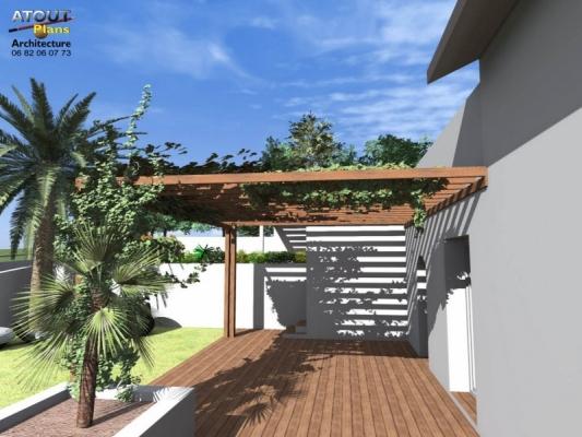 Aménagement paysager Chateauneuf de gadagne_ Atoutplans Architecture (3)
