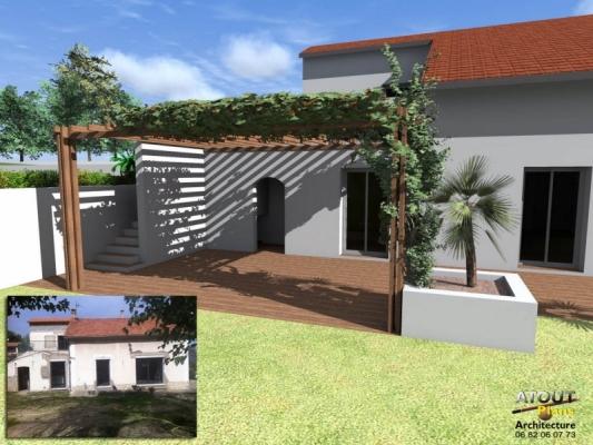 Aménagement paysager Chateauneuf de gadagne_ Atoutplans Architecture (7)