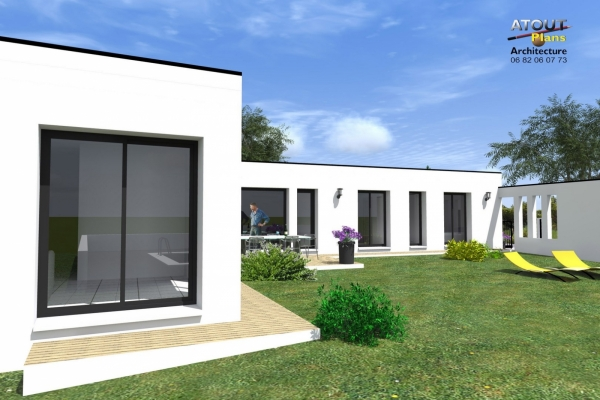 Villa moderne Avignon 84_ Atoutplans Architecture (10)