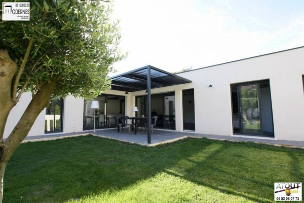 Villa moderne Avignon 84_ Atoutplans Architecture (5)