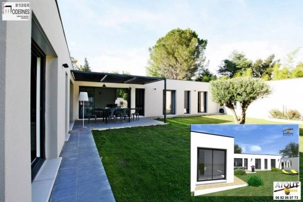 Villa moderne Avignon 84_ Atoutplans Architecture (7)