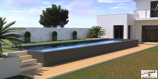 Espace Piscine - Jardin