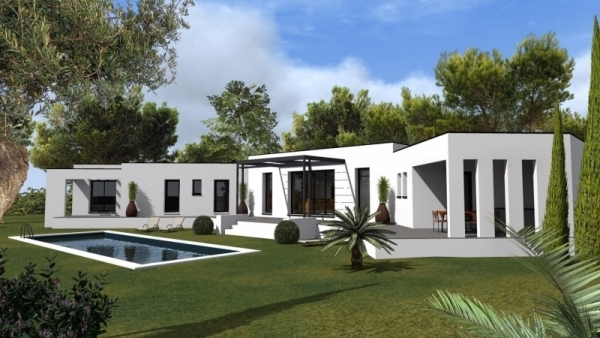 Villa individuelle contemporaine