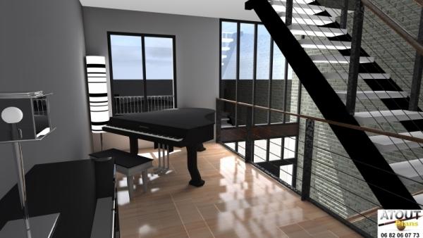 Espaces atypiques archives atoutplans architecture for Espace atypique loft