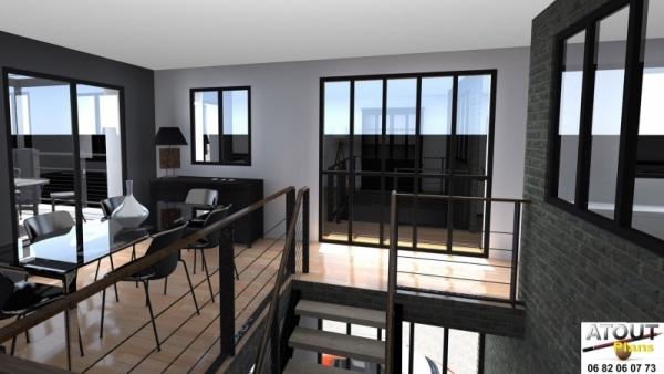Loft_ Paris 13_ Atoutplans Architecture (5)