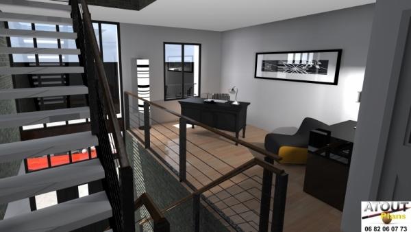 Loft_ Paris 13_ Atoutplans Architecture (6)