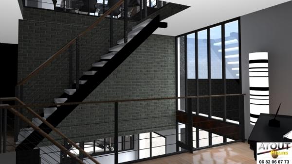 Loft_ Paris 13_ Atoutplans Architecture (7)