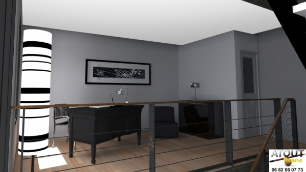 Loft_ Paris 13_ Atoutplans Architecture (8)