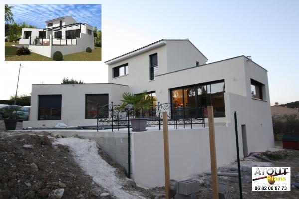 Maison moderne methamis 84 for Maison moderne 06
