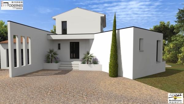 Maison moderne Methamis (85)