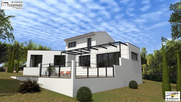 Maison moderne Methamis (88)