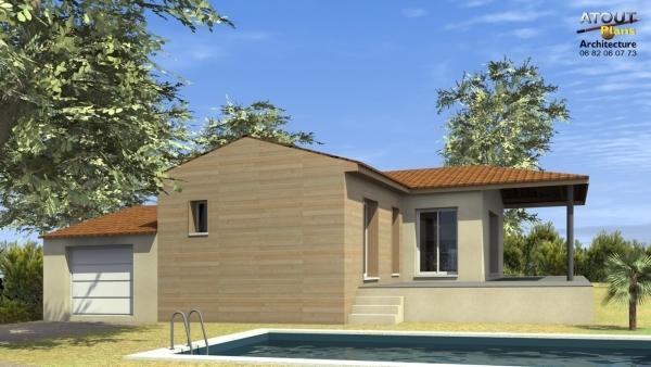 Maison ossature bois Orange 84