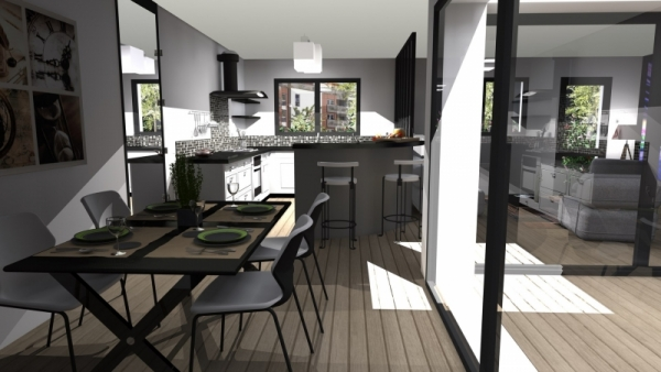 plan de maison avec patio central pin plan maison en forme de u avec piscine on pinterest with. Black Bedroom Furniture Sets. Home Design Ideas