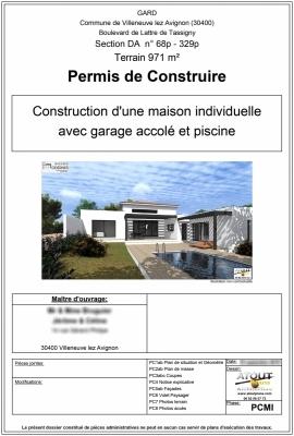 Exemple de dossier de demande de permis de construire - Demande de permis de construire garage ...