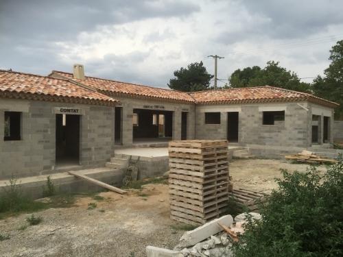 Permis de construire Villa traditionnelle Pujaut