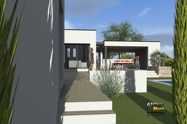Villa contemporaine Montpellier 34 (4)