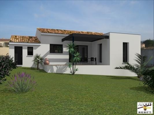 conception maison de plain pied les angles permis de construire. Black Bedroom Furniture Sets. Home Design Ideas