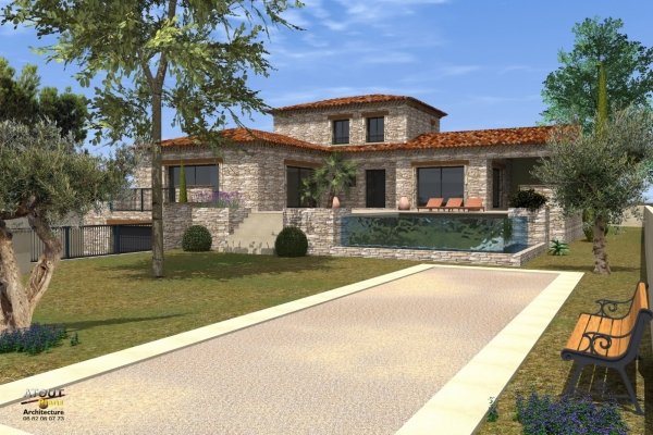 Villa méditerranéenne Barbentane 13 (7)