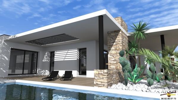 Les villa moderne meilleures images d 39 inspiration pour for Les plans des villas modernes